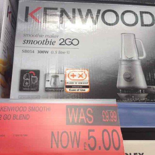 kenwood smoothie blender £5 b&m Holyhead