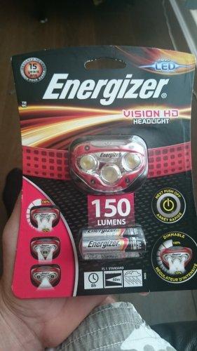 Energizer vision HD headlight scanning at £3.75 instore at Tesco