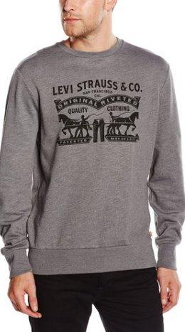Levi's Men's Graphic Sweatshirt £19.29-£20.98 - P&P £4.75 for non-prime @ Amazon