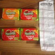 Hartleys Jelly strawberry & orange flavours 4 for £1.00 @ Heron