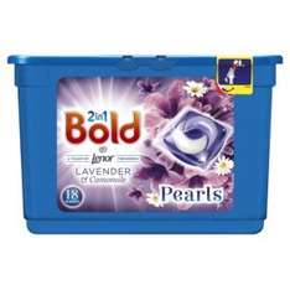 Bold 2in1  Washing Capsules 18 Washes £3 or £2.40( 20% off mypicks) @ waitrosse