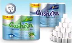 120 Rolls of Cusheen Quilted 3 ply Toilet Roll £13.98 delivered with code @ Groupon