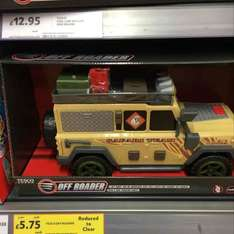 Tesco 'offroader' toy vehicle - £5.95, down from £21 (Hazelwick)