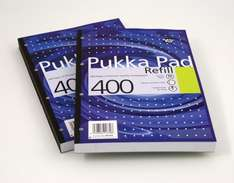 Pukka Neon A4 Refill Pad 200 Sheets (400 pages) £1.50 @ Tesco