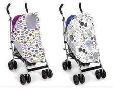 mamas & papas sunshades, fits most pushchairs was £17.99 now £6.99 @ Argos