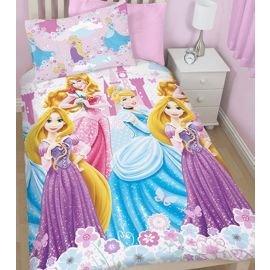 Girls Disney Princess Bedding Set £6 (+£2 C&C) @ Tesco Direct