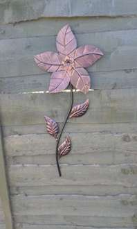 The gallery bronze wall flower £3 reduced from £5 at B&M