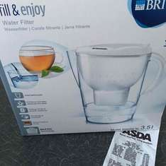 Brita Marella XL (3.5l) white one only £5 at Asda in store (Arnold)