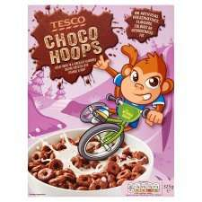 Tesco Choco Hoops Cereal 325g 70p in store only