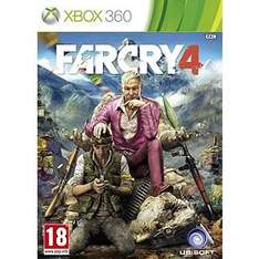 Far Cry 4 - £9.99 on Xbox360 and PS3 at Argos
