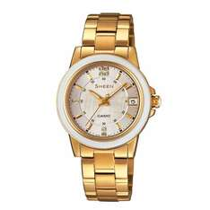 Casio Sheen Ladies' Ceramic Gold-Plated Bracelet Watch £24.99 from H Samuel