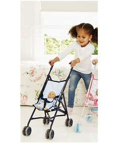 Cupcake Dolls Stroller Pink OR Blue £5 @ ELC & Mothercare - Free C&C