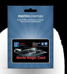 Merlin Cinema Movie Magic Card - £9.95