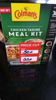 Chicken Tagine meal kit 50p @ Pound deals - Stoke-on-Trent