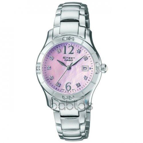 Casio Sheen Ladies' Pink Mother of Pearl Dial Bracelet Watch £24.99 @ H Samuel - free c&c