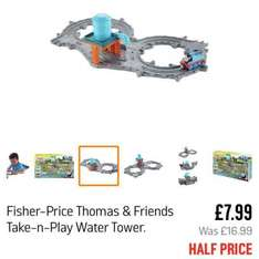 Thomas take n play water tower set £7.99 @ Argos