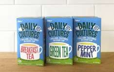 Free Pack of Daily Cultures Tea