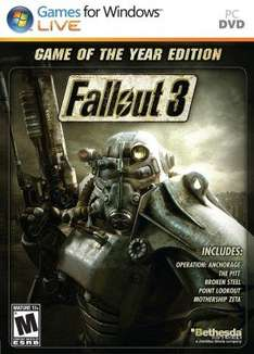 [Steam] Fallout 3: GOTY Edition £4.92 (Instant Gaming)