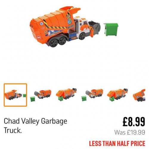 Electronic garbage truck £8.99 @ Argos