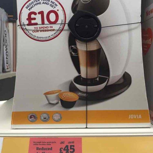 Nescafé Dolce Gusto Coffee Machine £45 @ Sainsbury's Worle