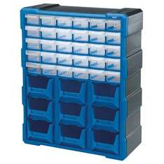 Draper 39-Drawer Storage Unit £3.00 (& more) @ Robert Dyas (free click&collect)