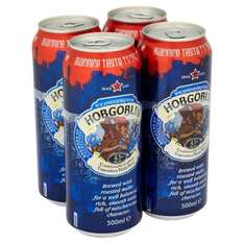 Wychwood Hobgoblin Ale 4 x 500ml Cans £2.50 @ B&M Instore