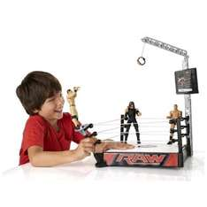 WWE Super Strikers Turnbuckle Takedown Ring @ Tesco Direct  £12.99 + £3 delivery