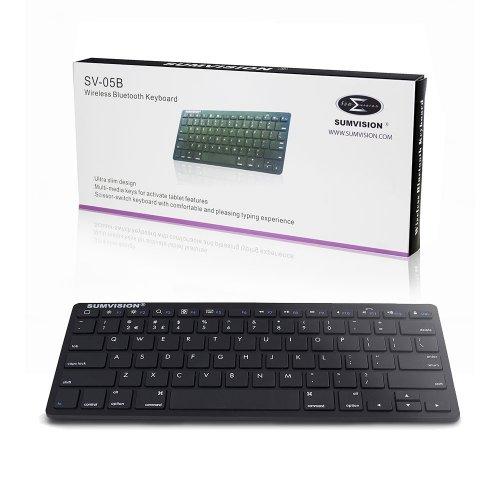 Sumvision SV-05B Bluetooth 3.0 Wireless Ultra Slim Keyboard - £6.99 @ 7dayshop
