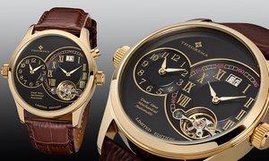 Men's Theorema Paris Dual Time Watch @ Groupon £153.19