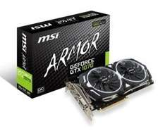 MSI GTX 1070 armour 8gb £389.99 incl delivery ebuyer.com