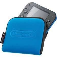 Nintendo 2DS Carrying Case Blue (Or Red) - £1.85 -Shopto