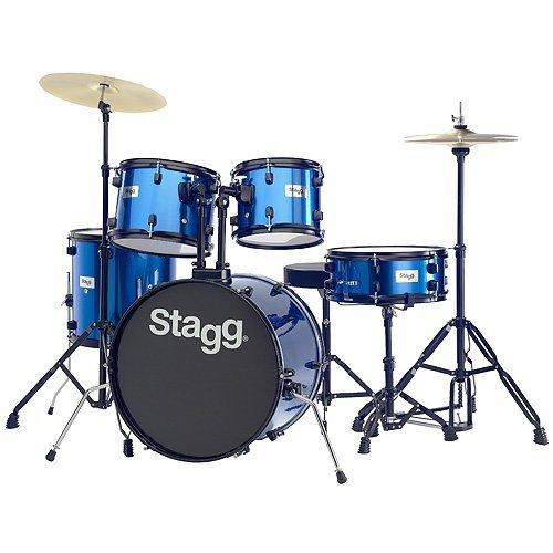 """""""Junior"""" Stagg TIM120B BL Drum Set £91 @ Amazon"""