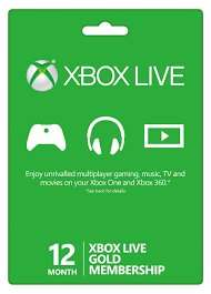 Xbox Live Gold 12 Month membership £29.28 (Inc payment fee) @ Gamesdeal