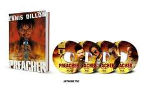 Preacher - Season 1 Collector's Edition (Limited Edition: Exclusive to Amazon.co.uk) [Blu-ray] Pre Order £39.99 @ Amazon