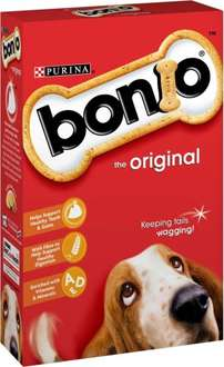 Bonio Dog Biscuits The Original (650g) was £1.67 now £1.00 @ Morrisons