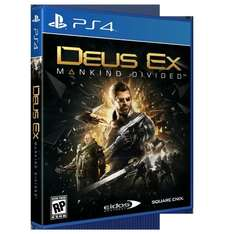 Deus Ex: Mankind Divided Day 1 Edition + Deus Ex: Mankind Divided Cloth Poster PS4 XBOXONE£34.85 Shopto