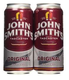 John Smiths Original £1.78 for 4cans (£1.01/l) on Amazon Pantry