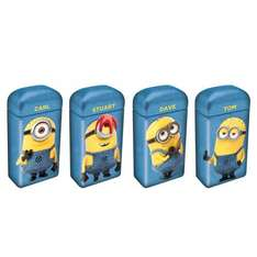 10P - Despicable Me Minions Crispy Biscuit Tin | Chocolate, Biscuits - B&M (Chester)