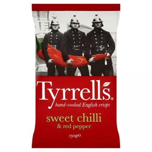 Tyrrells Crisps 150g was £2.19 now £1.00 @ Tesco