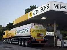 Free air for tyres and water for windscreen with £15 fuel purchase @ Morrison
