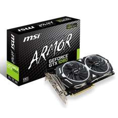 MSI GeForce GTX 1080 Armor 8G for £494.16 @ Amazon sold by Fuzion