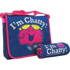 Little Miss Chatty Messenger Bag with pencil case-was £19.99, £5.99 a couple weeks ago now £4.99 Argos