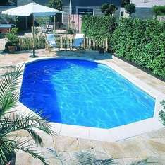 20 x 12ft swimming pool - £2195 delivered from Splash & Relax via Tesco Direct