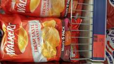 Walkers 6 pack meaty  crisps 59p b and m