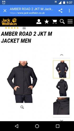 Jack Wolfskin Amber Road 2 Jacket £41.95