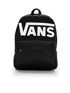 Back to school?  Vans white logo backpack- half price  £14 at Very