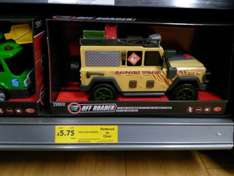 Tesco Off-Roader large toy car, was £21 now £5.75 @ Tesco