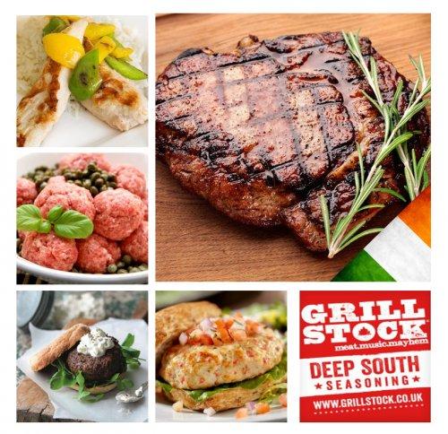 10 x 6-7oz Irish Grass Fed Rump Steaks + Free Mini Chicken FIllets, Meatballs, Lean Steak Burgers, Chili Chicken Burgers & Seasoning £29.95 Delivered @ Musclefood (Using code)