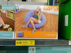 Intex Beanless Bag-Chair was £20 now £3.25 @ Tesco