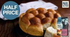 Tesco Paul Hollywood Flour Mixes 50p - lower price and now half price! Via Checkout Smart